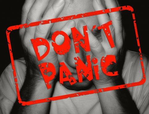 COVID19…avoiding the fear and panic