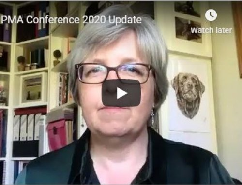 Video: Important Update On The PPMA Annual Conference 2020 From Karen Grave